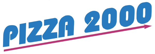 Logo Pizza 2000